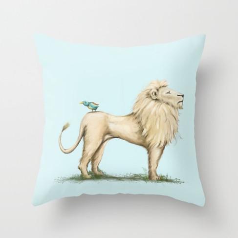 leo-lion-bird-pillows