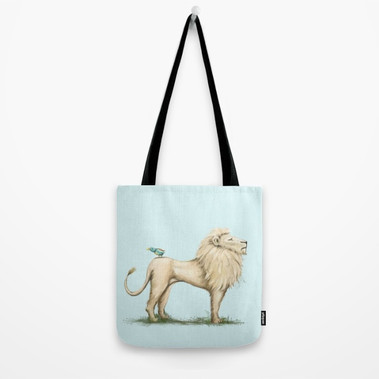 leo-lion-bird bag