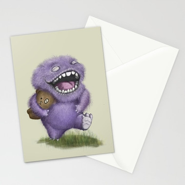 Joy Monster Card