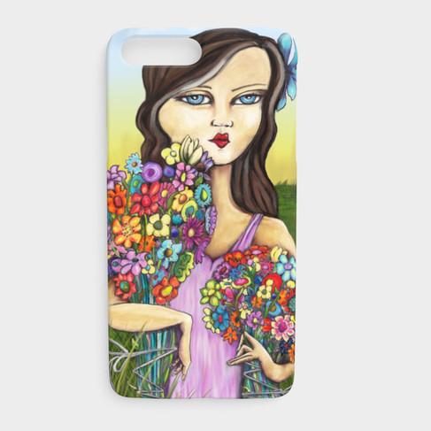 Flower Girl Phone Case