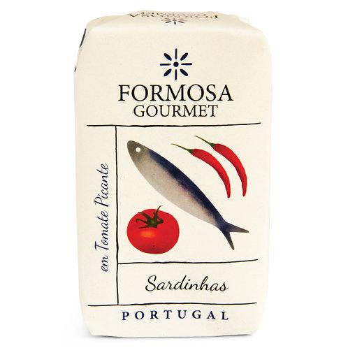 Sardines tomates piquantes