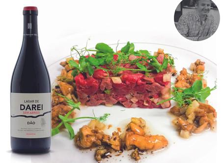 Tartare de magret de canard et boeuf par le Chef Olivier Salmon