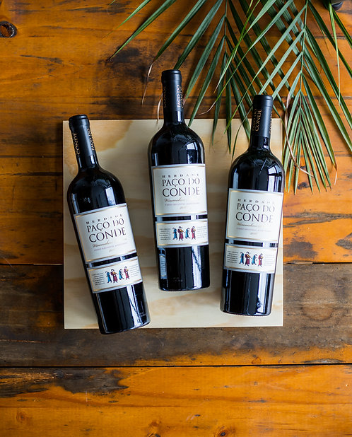3x Herdade Paço do Conde Winemakers Selection Rouge 2016