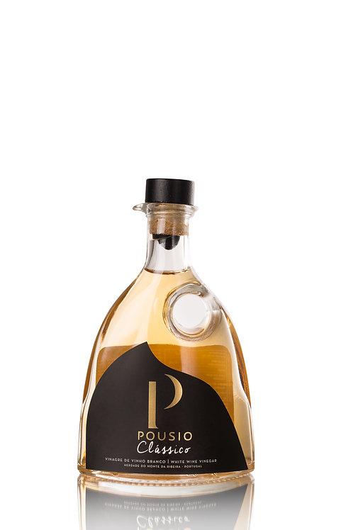 Pousio Classico Vinaigre Vin Blanc Acidité 7% - 250ml