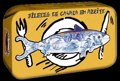 GONDOLA DESIGN - Filets de Maquereaux à l'huile d'olive, 120 gr