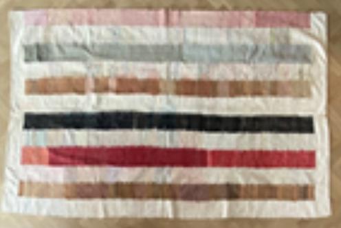 Couverture Afrique (cotton)  - Tissage manuel de Castelo Branco