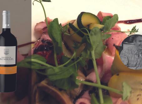 Carpaccio de veau au balsamique et parfum de truffe by Chef Olivier Salmon