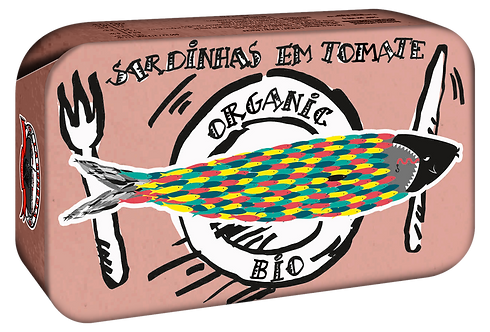 GONDOLA DESIGN - Organic Sardine à la tomate, 120 gr