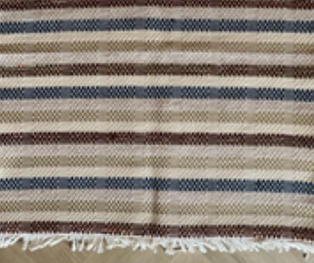 Tapis B.B.B (cotton et laine) - Tissage manuel de Castelo Branco