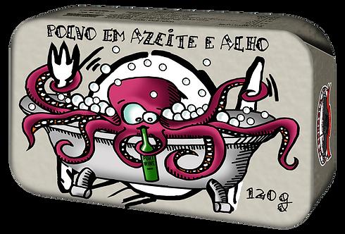 GONDOLA - Poulpe à l´Huile D´Olive et Ail, 120 gr