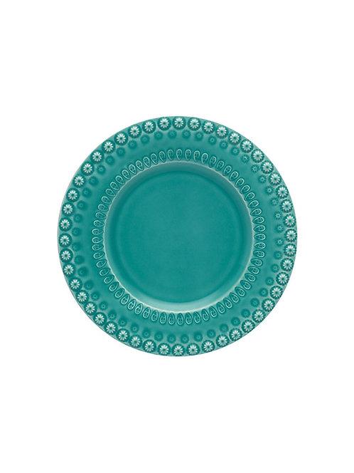 Assiette dîner 29cm acqua green