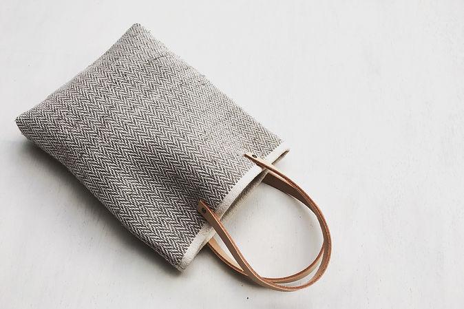 sakiori bag 裂き織りバッグ