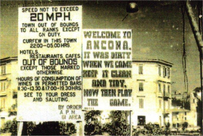 Signage Ancona Italy