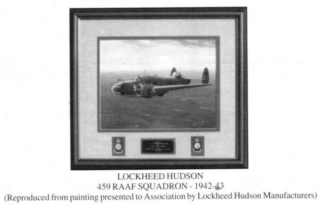 459 RAAF Lockheed Hudson - 42 -43