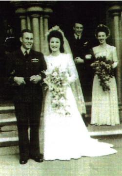 Wedding photo full length