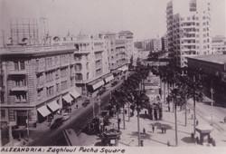 Egypt Alexandria Zaghloul Pasha Square