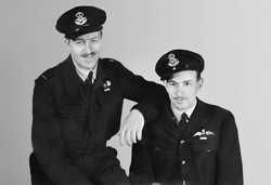 Photo of Herbert Bertram (on the right)