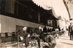 Joe Aitken & Bill outside Imperiale Hotel Athens