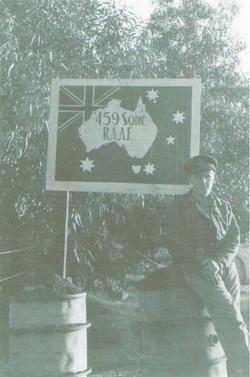 459 Squadron sign Benghazi
