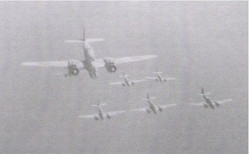 Formation over Trieste