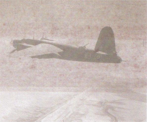 B25 Maruader near Suez Canal