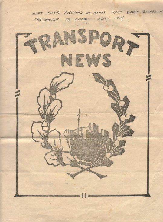 Transport News paper July 1941