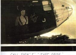 454 Squadron Plane Just Jane