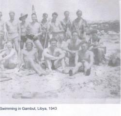 Swimming at Gambut Libya
