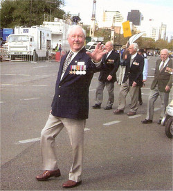 Bob marching