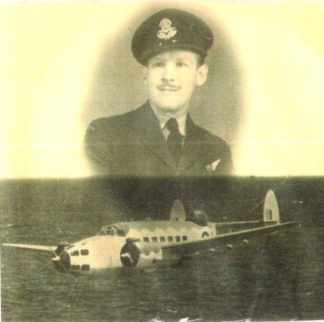 Bill with a Lockheed Hudson