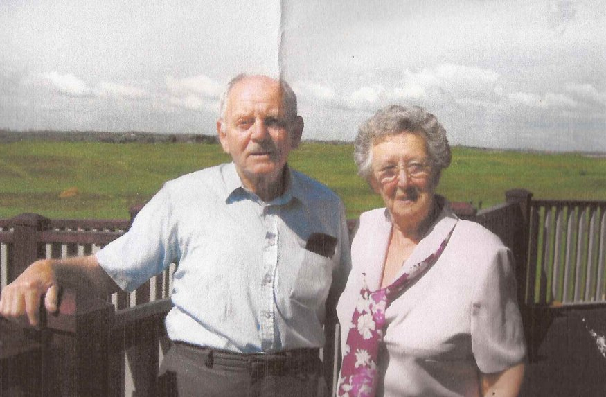 Gerry Spring & wife Iris 2006