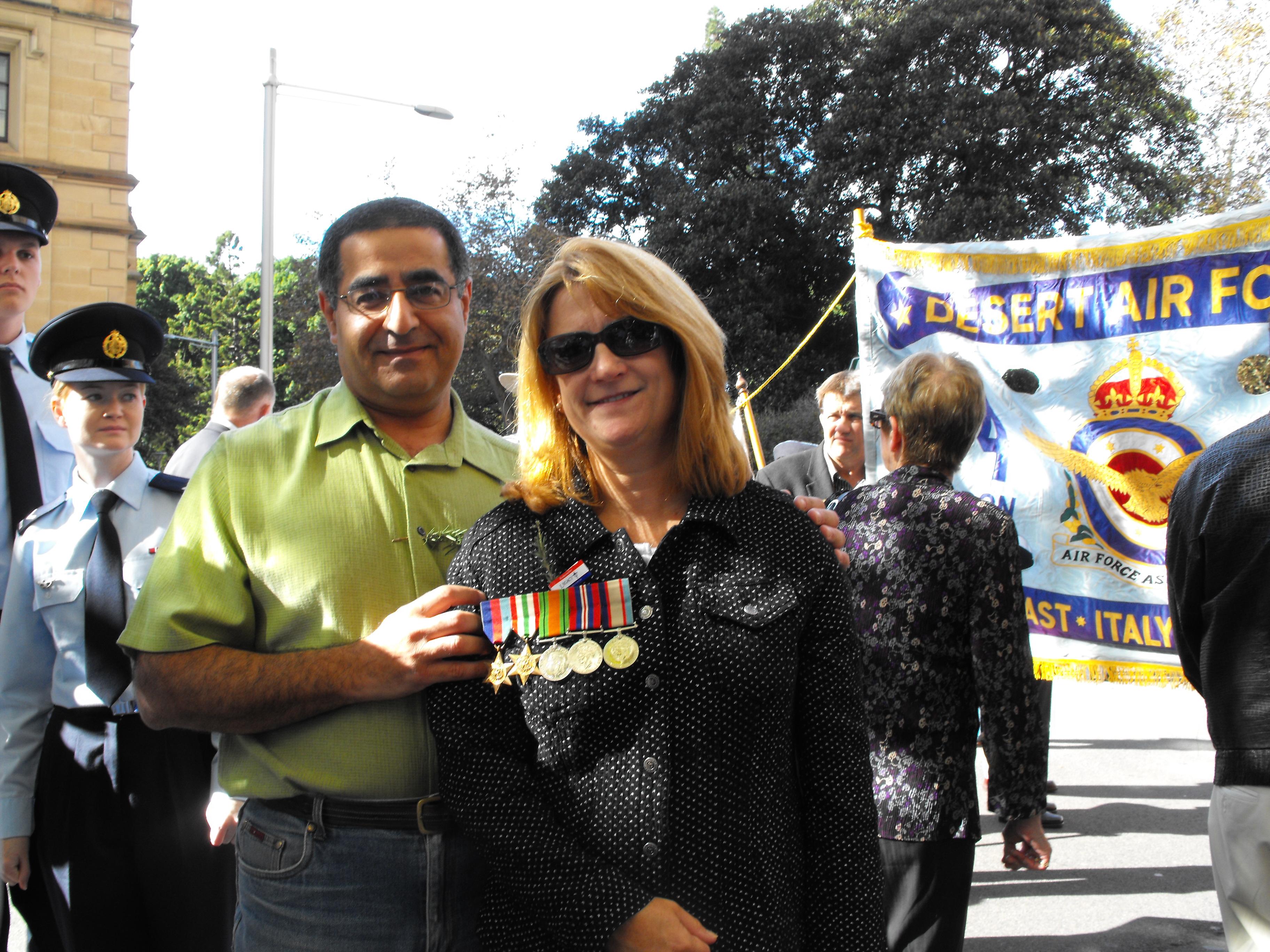 Michael and Pam Antonios