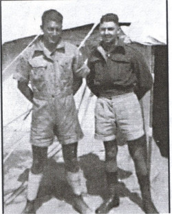 LAC Keith Boyling 23341 and LAC Wallace Reid 22831
