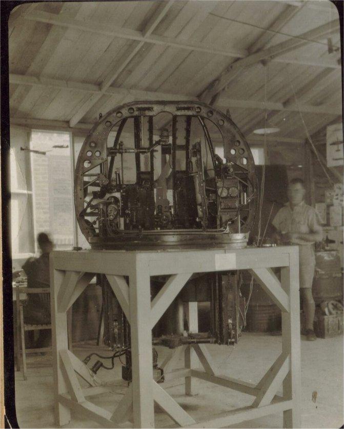 Boulton Paul Defiant gun turret