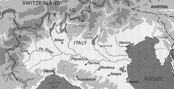 Po Valley - Northern Italy