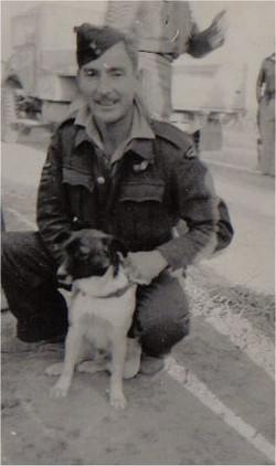 Jeff Ashford & Sharpend dog