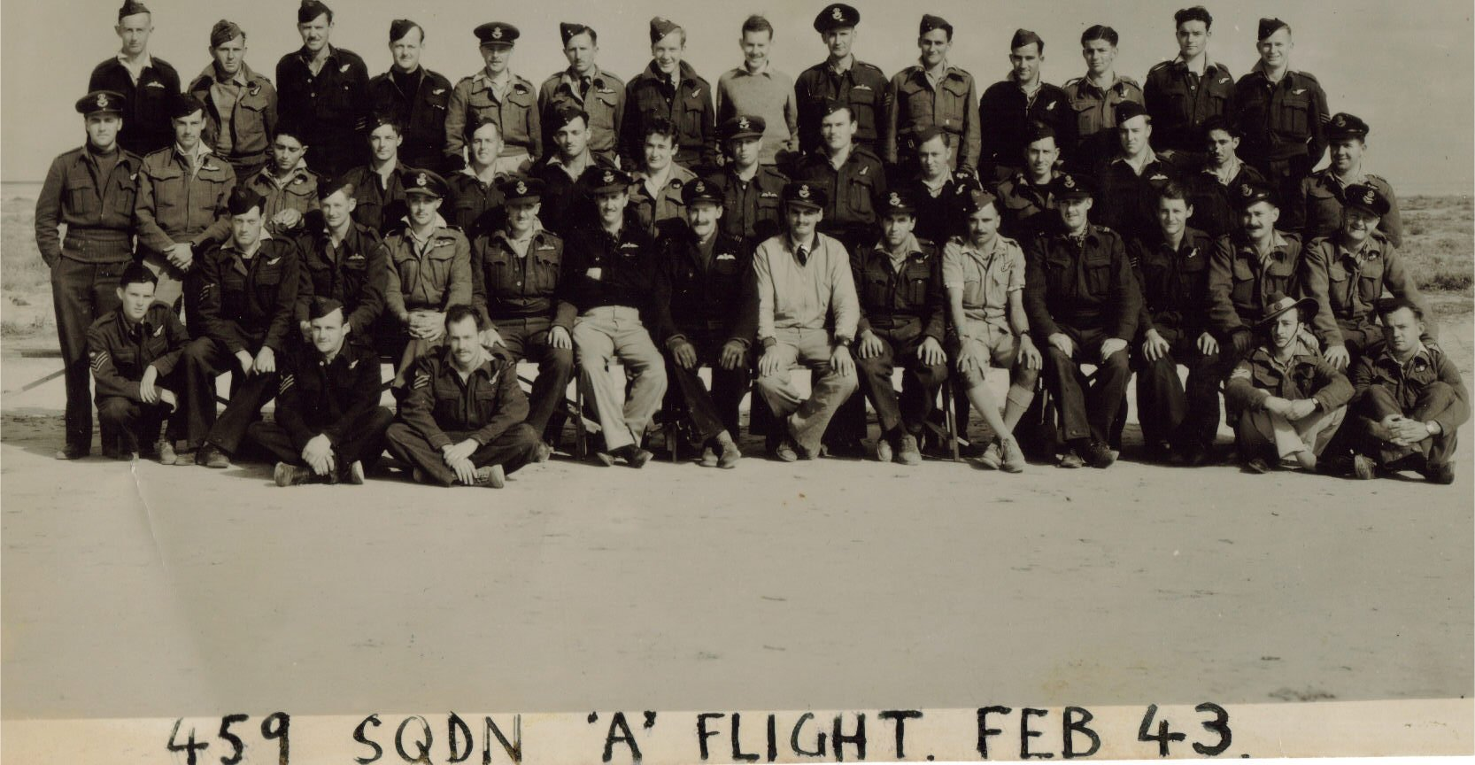 459 Squadron A Flight Feb 1943