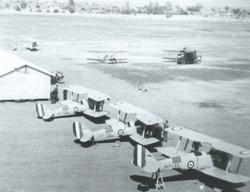 Tamworth Tiger Moth training 1940