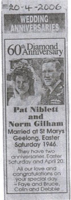 60th Wedding