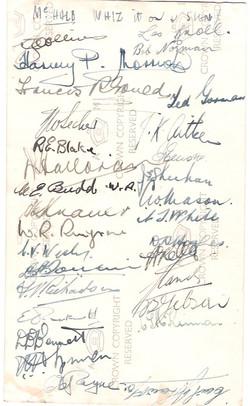 Christmas Dinner 459 _1944 Signatures