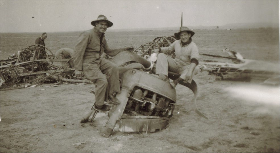 C_Crashed Blenheim Iraq 1942