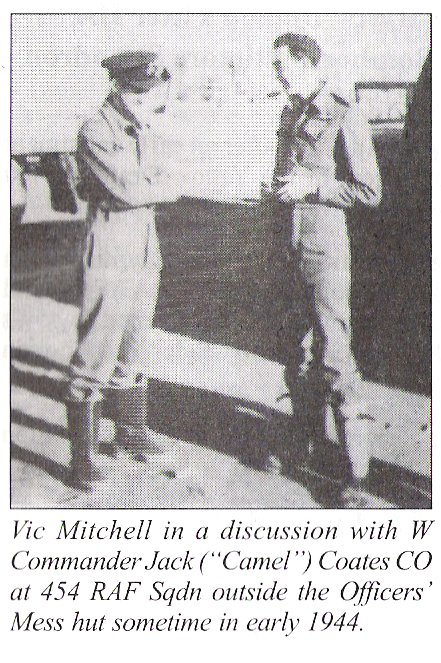 Mitchell in discussion with CO Coates