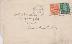 Letter from Elizabeth H Doswell to Mrs Stapleton, Jan 7 1943 (Envelope front)