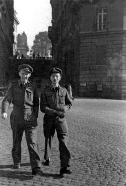 Couzens & Tite in Rome 1943
