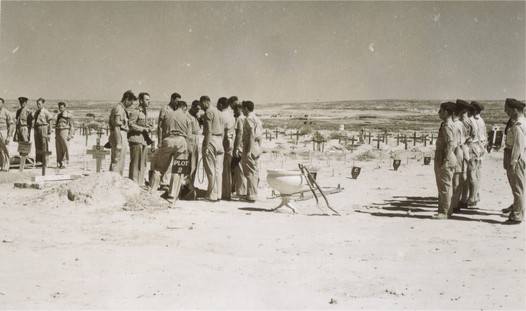 Boots funeral at Tobruk