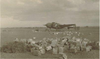Refueling in Italian Somaliland