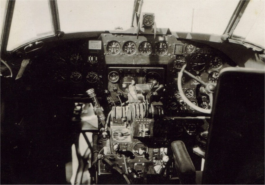 Pilots compartment Hudson MK 111