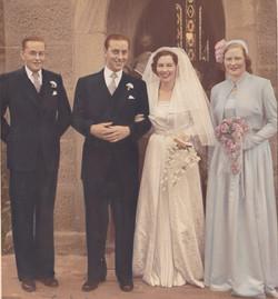 Alex, Bill Lochhead , Margaret Cann, Liz