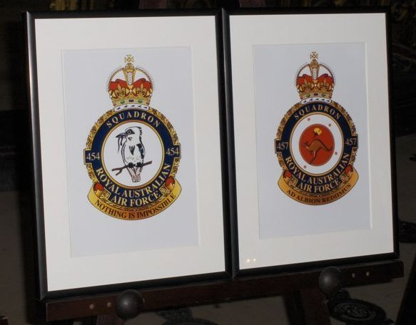 Paintings of the badges