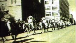 Calgarry Stampede Parade Proud Indian Chiefs